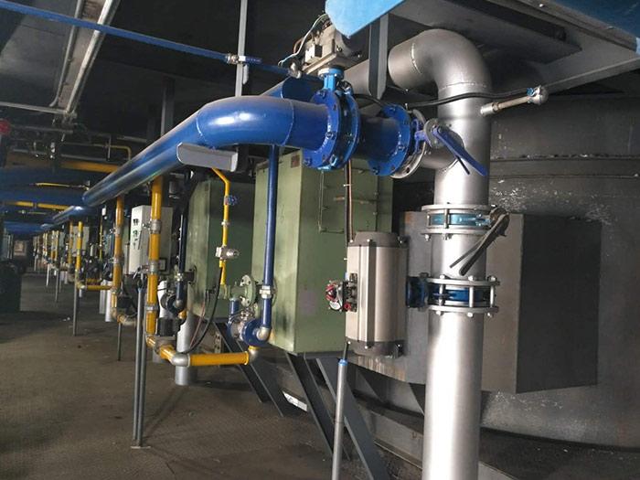 铅锅用炉专业蓄热式改造工程