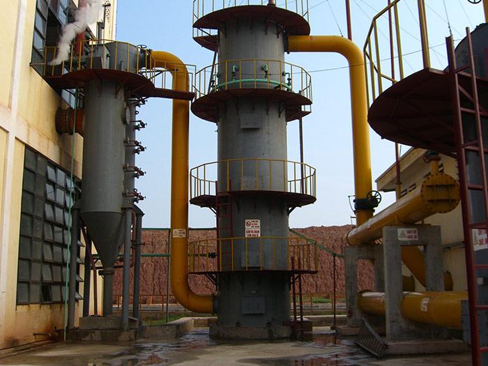 冷煤气站的煤气净化系统