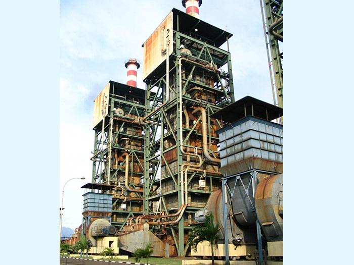 以气代油改造成功的石灰窑工程 (印尼卡钢)