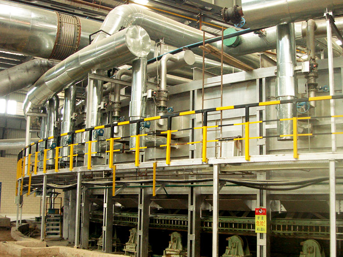高节能与环保工模具钢环形加热炉 (中日合资河冶科技公司)
