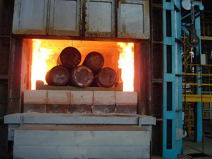 台车式加热炉