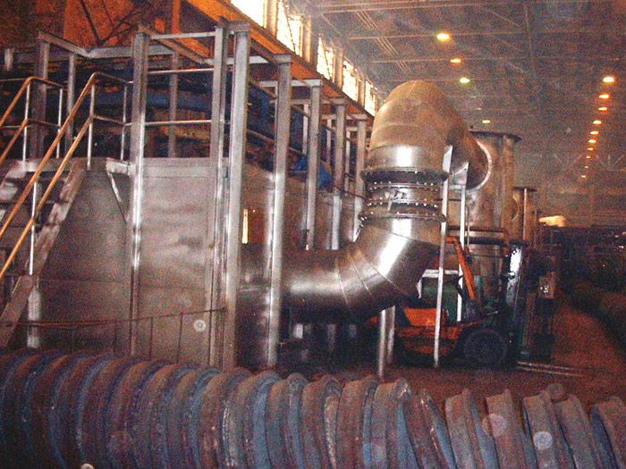 悬挂链式连续热处理炉